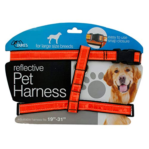 Large Reflective Dog Harness - 4/Pack (7 Pack)