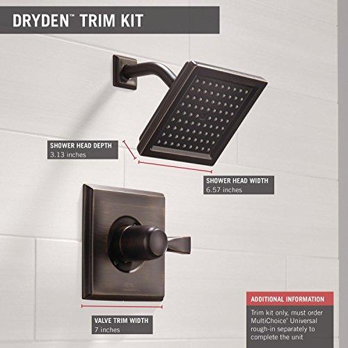 Delta Faucet T14251 RB Dryden Monitor 14 Series Shower Trim, Venetian  Bronze   Shower Installation Kits   Amazon.com