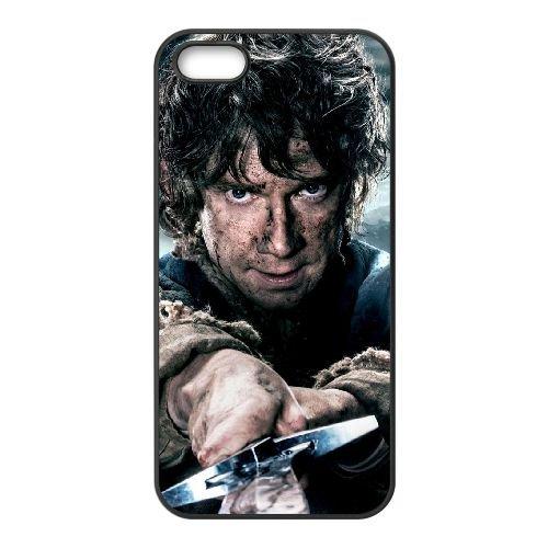 Bilbo Baggins The Hobbit Poster Wide coque iPhone 4 4S cellulaire cas coque de téléphone cas téléphone cellulaire noir couvercle EEEXLKNBC23587