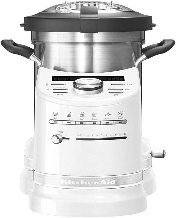 KitchenAid Artisan Frosted Pearl KCF0103EFP/1 - Robot de Cocina ...
