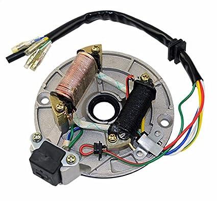 amazon com: new magneto plate ignition stator for 90cc 110cc 125cc 152fmh  taotao lifan pit bike crf50 xr50 engine part: automotive