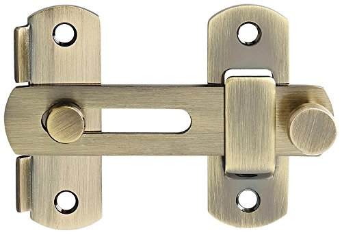 Alise SUS304 Stainless Steel Gate Latches Pet Door Latch Bolt Lock Heavy Duty Flip Latch 2.5mm-Thick,MS9500-Q Bronze by Alise