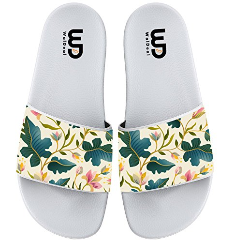 Sandal Adult Outdoor Summer Men Fantastic Seamless For Plant Beautiful Beach Boy Slide Shoes Women Slipper Girl axZwxOfgn