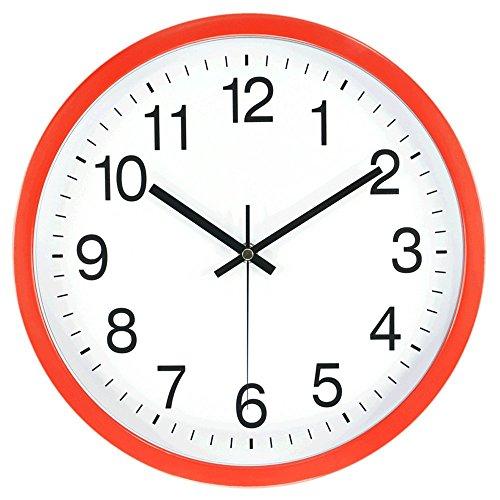 simple modern silent wall clock