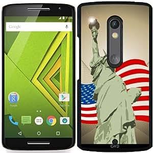 Funda para Motorola Moto X Play - La Estatua De La Libertad by nicky2342