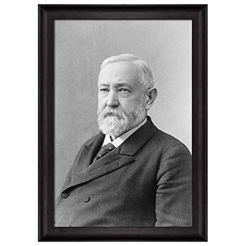 Portrait of Benjamin Harrison (23th President of the United States) American Presidents Series Framed Art Print