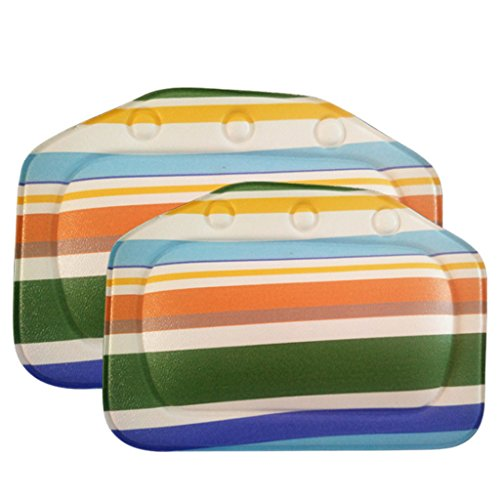 Sterling Bolster (Bath Pillow Bathtub Pillow PVC Waterproof Spa Bath Pillow Comfortable Headrest Bathroom Supplies 8#)