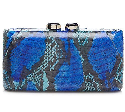 sondra-roberts-genuine-snake-clutch-blue