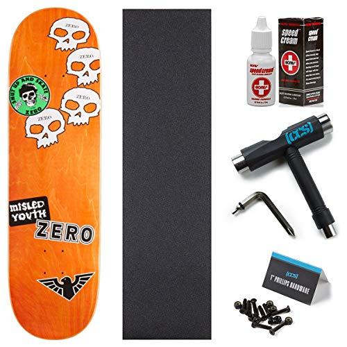 Zero Sticker Mashup Thomas Skateboard Deck - 8.50