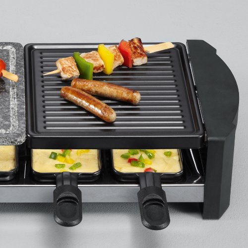 severin rg 2683 raclette grill mit naturgrillstein k chenausstattung k chenzubeh r shop. Black Bedroom Furniture Sets. Home Design Ideas