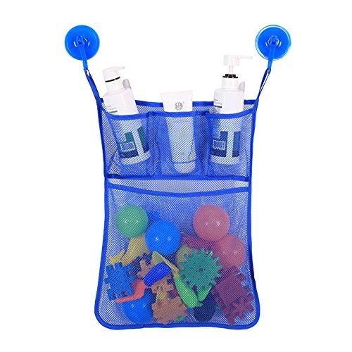 Bath Toy Organizer Bathroom Mesh...