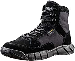 ANTARCTICA Men's Lightweight Military Tactical Boots for Hiking Work Boots (US 8/Euro 41, Black)