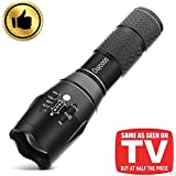 OUYOOOO Tactical LED Flashlight – High Lumen, Portable, Zoomable, Water & Shock Resistant, Handheld Light - Best for Camping, Outdoors, Home, Emergency, or Gift-Giving