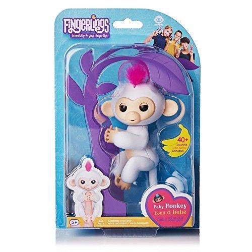 Fingerlings Interactive Baby Monkeys 2 Pack Sophie