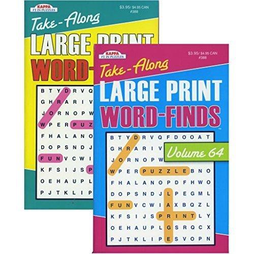 KAPPA BOOKS PUBLISHEWORD FIND LG PRINT DIGEST SIZE3388