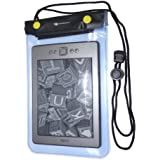 Decrescent Universal Waterproof eReader Protective Case Cover for Amazon Kindle Paperwhite, Kindle 4, Kindle Keyboard, Kindle Touch, Kindle Fire, Sony eBook Reader Wi-Fi, Kobo Touch, Kobo Wi Fi, Nook Simple Touch and more