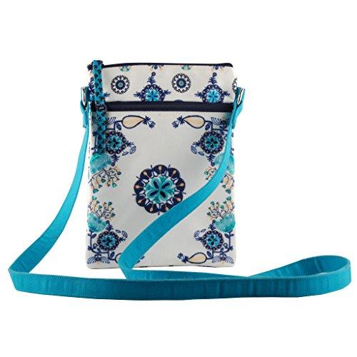 Crossbody slingbag purse tote shoulder travel bag smooth zipper women girls