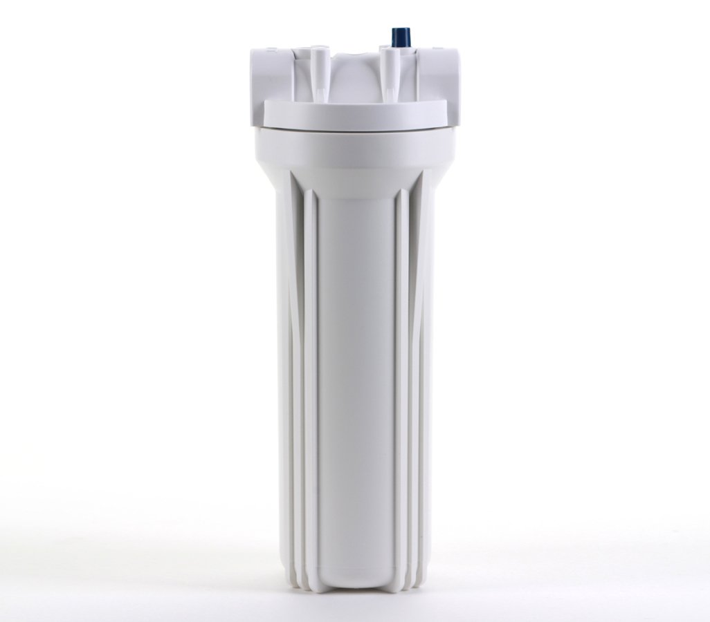 3//4 Ports with Pressure Relief Button Hydronix HF3-10WHWH34PR 10 White Housing with White Rib Cap