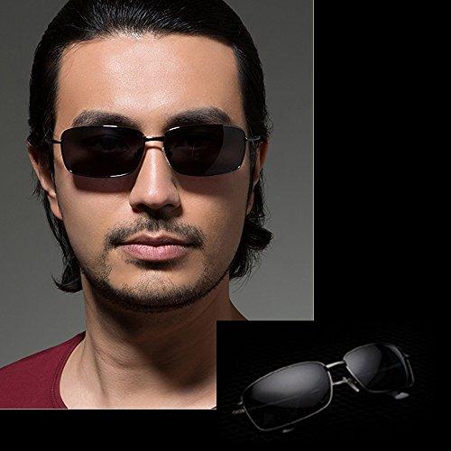 TESITE Gafas De De UV Gris 100 para Sol Polarizadas ProteccióN Hombres Gafas Bppq6U