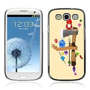Designer Depo Hard Protection Case for Samsung Galaxy S3 / Cute Bird