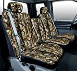 93 bronco camo seat covers - Saddleman Custom Made Front Bucket Seat Covers - Polyester Fabric (Camouflage)