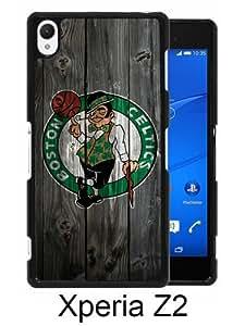 Beautiful Classic boston celtics Black Case For Sony Xperia Z2