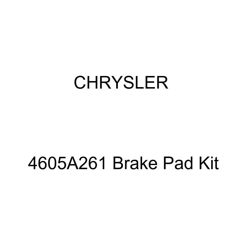 Genuine Chrysler 4605A261 Brake Pad Kit