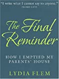 The Final Reminder, Lydia Flem, 0285637827
