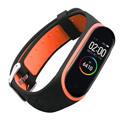 Amazon.com: huaquyuedu_Watch Bands Compatible with Xiaomi Mi ...