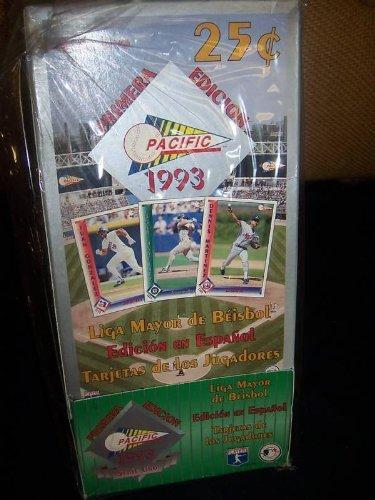 (1993 Pacific Primera Espanol Edicion Baseball Card Box Series 2 Spanish Edition Baseball Card Set)
