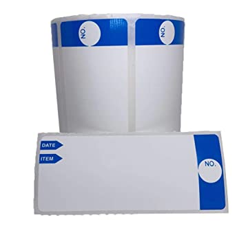 Starlife - Etiquetas autoadhesivas para congelador, 3 x 1.25 ...