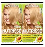 Garnier Hair Color Nutrisse Nourishing Creme, 93 Light Golden Blonde (Honey Butter), 2 Count