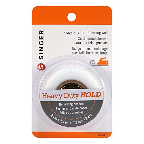 Singer Heavy Duty Iron-On Fusing Web, Fabric Adhesive ()