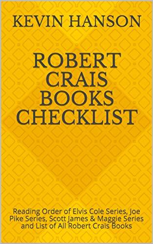 Amazon Robert Crais Books Checklist Reading Order Of Elvis