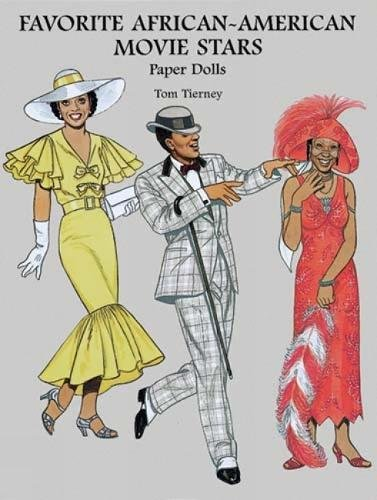 Search : Favorite African-American Movie Stars Paper Dolls (Dover Celebrity Paper Dolls)