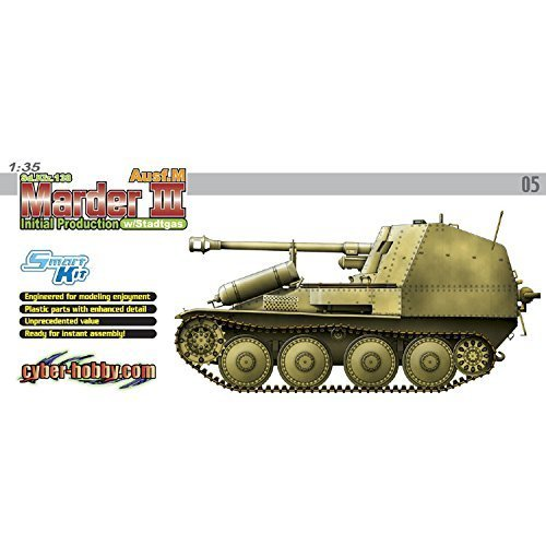 : Cyber Hobby 1:35 Marder III Ausf.M Stadtgas Fuel