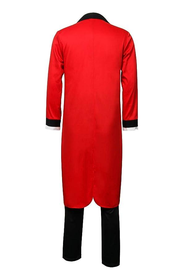 ZhangjiayuanST Disfraz de Círculo Rojo de Barnum PT para Hombres y ...