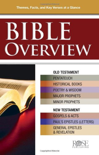 Bible Overview pamphlet: Know Themes, Facts, and Key Verses at a Glance