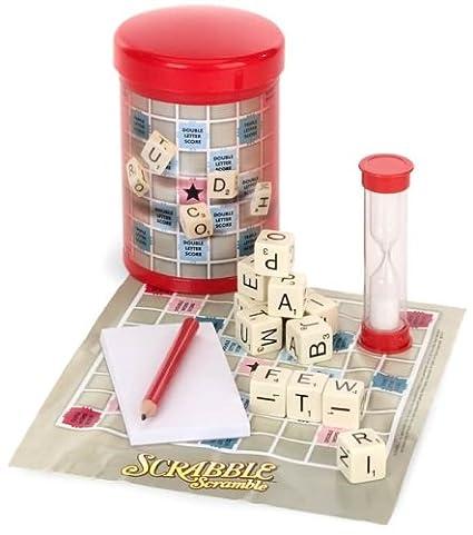 Hasbro Gaming Scrabble Scramble to Go