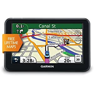 Refurbished Nuvi 50 LM 5 In. GPS Navigator with United States Map Coverage and Lifetime Map Updates