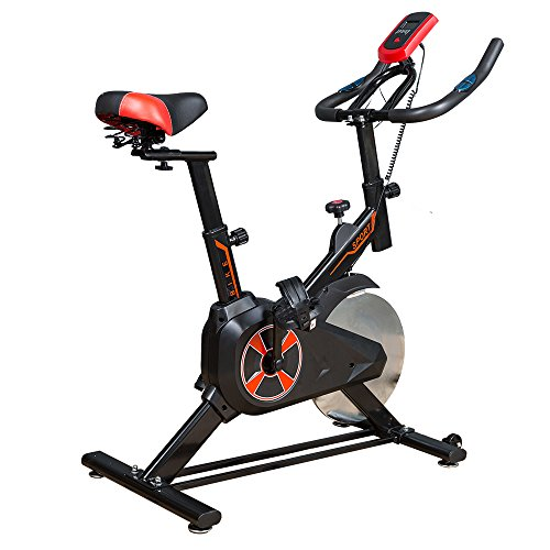 LIVBEST Indoor Exercise Bike for Losing Weight Cycle Trainer Fitness Bicycle Stationary Black