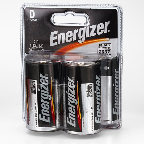 Energizer MAX Alkaline Batteries 4 Count
