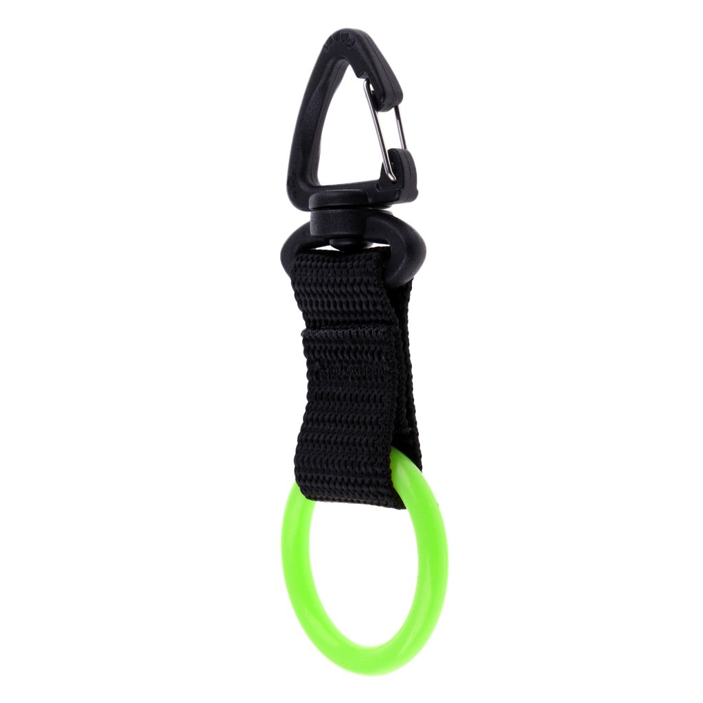 Homyl Premium Silicone Mouthpiece Holder Regulator Octopus Retainer Webbing Keeper for Scuba Diving Snorkeling Free Diving