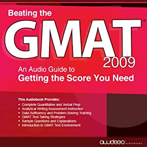 Beating the GMAT 2009 Audiobook