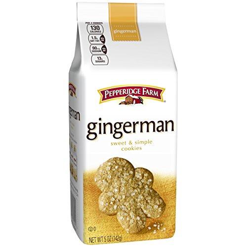Pepperidge Farm, Cookies, Gingermen, 5 oz., Bag ()