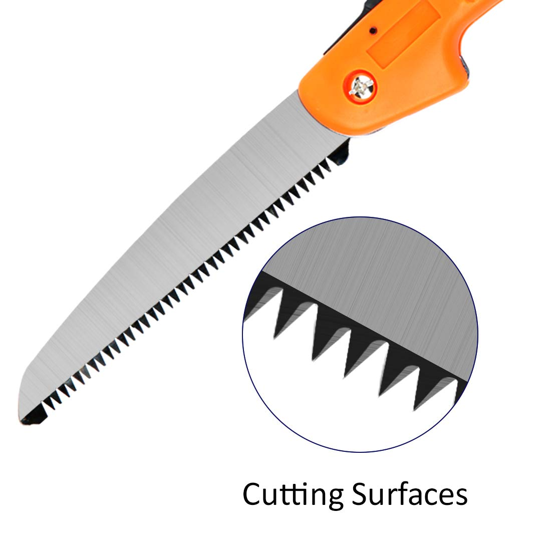 HARVET Folding Hand Saw,7 Inch Blade, Perfect for Wood, Bone, PVC, Tree Pruning, Camping, Hunting by HARVET