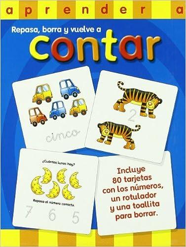 APRENDER A CONTAR.(REPASA, BORRA Y VUELVE CONTAR): Ediciones San Pablo: 9788428532693: Amazon.com: Books