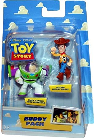 ACTION SHERIFF WOODY & SPACE RANGER BUZZ LIGHTYEAR Disney / Pixar ...