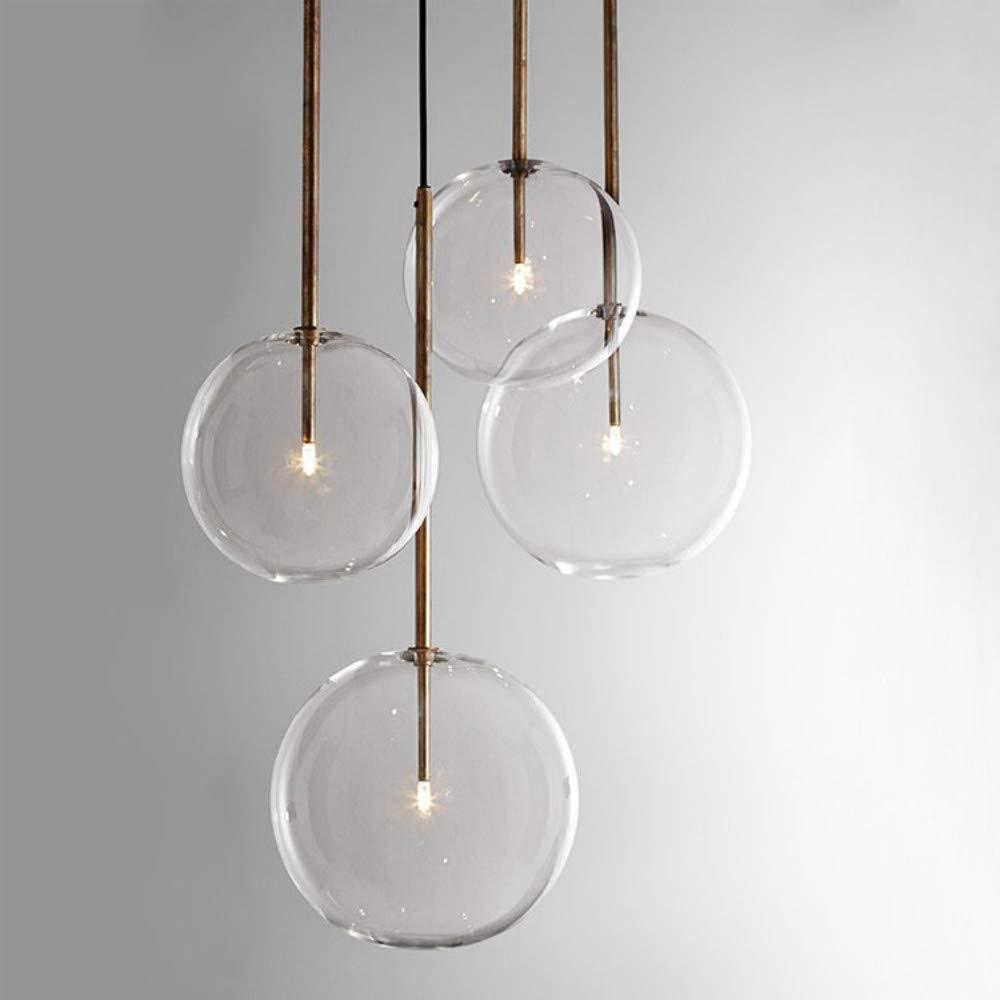 Klar Einfache Kreative Glas Lichter Bar Café Einfache Kronleuchter Eisen Droplight Experimentelle Flasche Lampr Mattglas 25 cm