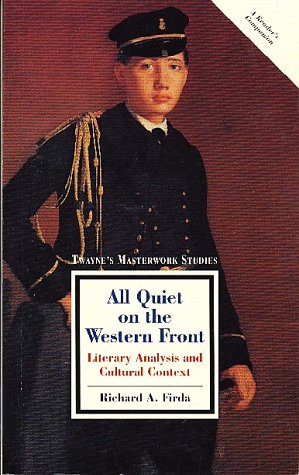 a literary analysis of all is quiet on the western front A critical book review of erich maria remarque's all quiet on the western front » literature critical book review: all quiet on analysis of poem the.
